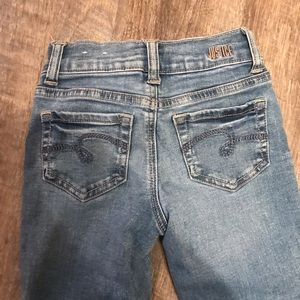 Justice Bottoms - Girls Justice Straight Leg Jeans